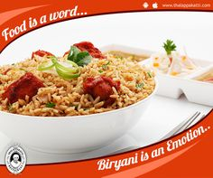 Food is just a word.... Biriyani is an Emotion...   Make your Boring Sunday amazing with delicious and mouth-watering dishes at THALAPPAKATTI RESTAURANT  http://www.thalappakatti.com/  #DindigulThalappakatti #Thalappkatti #ThalappakattiRestaurant #Food #Foodie #Biriyani