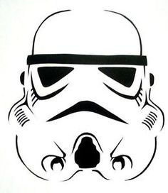 Storm Trooper Stencil for Airbrush Tattoo Craft Art | eBay