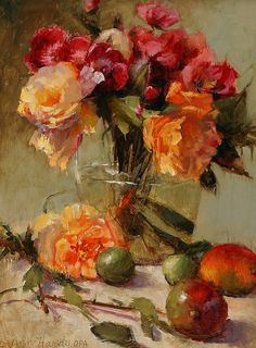 Modern No Frame Hand Painted Still Life Oil Painting A17101123 #Realism