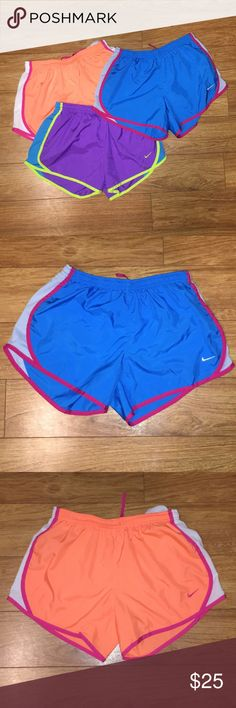 Nike Short Bundle All three Nike shorts worn once. In great condition!! Nike Shorts