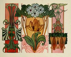 Sandie Goble's Printable Heaven Blog: Beautiful Art Nouveau Designs