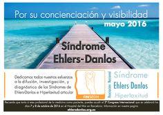 Mayo es el mes para visibilizar y concienciar sobre el Síndrome de Ehlers-Danlos, una enfermedad ignorada e infradiagnosticada