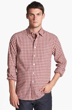 Grayers Trim Fit Sport Shirt available at #Nordstrom