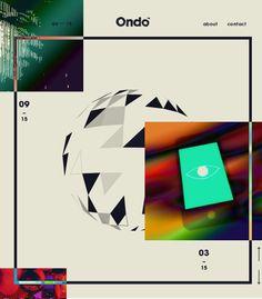 Ondo, May 1, 2014. http://www.awwwards.com/web-design-awards/ondo #UI #Inspiration #Animation #Colorful #Web #Design #Modern #Playful #Awwwards