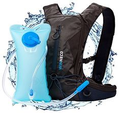 Hydration Backpack for Running Walking Hiking Biking Cycling Skiing - 50 OZ / 1.5L Pack Water Bladder - Lightweight Running Gear - For Women Men Kids - Perfect Outdoor Camping Gear - Hydration Vest by Winneco, http://www.amazon.com/dp/B01LYYXBKX/ref=cm_sw_r_pi_dp_U_x_pMswAbDJ4G5BY