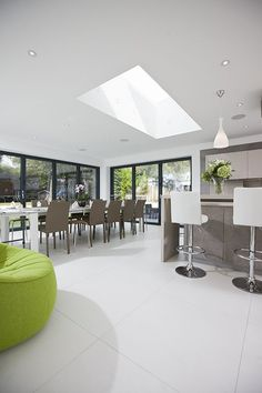 Did you know rooflights add 3 times more daylight to your kitchen extension than vertical uPVC windows? Plus, Sunsquare are the ultimate in style and thermal efficiency.