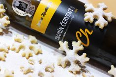 Krehké vínne snehové vločky - Powered by @ultimaterecipe
