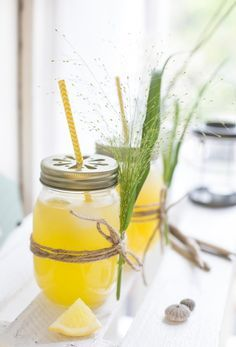 Mango-Zitronen-Limonade I #sommer #limonade #rezept