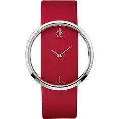 Red Glam Ladies Watch CK