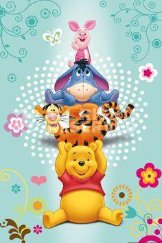 Poster: Disney Pooh online te koop. Bestel je poster, je 3d filmposter of soortgelijk product Maxi Poster