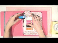 Manualidades de papel: Cómo decorar una agenda Moleskine. Tutorial - YouTube