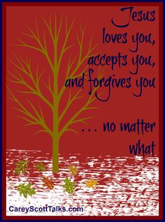 Jesus loves you, accepts you, and forgives you. no matter what. Psalm 119 105, Inspirational Quotes For Kids, Jesus Loves You, Forgiving Yourself, Word Of God, Forgiveness, Psalms, Pray, Encouragement