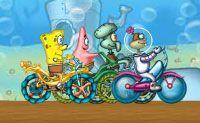 Spongebob Fiets Race
