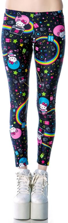 Japan L.A. Hello Kitty Afro Leggings http://www.dollskill.com/japan-l-a-hello-kitty-afro-leggings.html