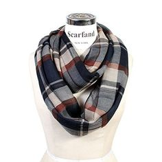 "- Material: 100% Polyester / The fabric is thin and light weight. - Circumfrence: 68"" Width: 34"" - Brand: Scarfand® (a registered trademark) - ** BRAND HISTORY: Scarfand is a vibrant, young, and moder"