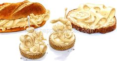 Illustrator, Fill, Layout, Desserts, Page Layout, Deserts, Illustrators, Dessert, Postres