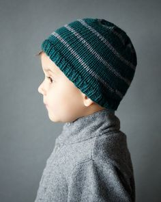 Toddler Boy Beanie Knitting Pattern