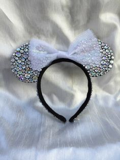 Colors of the Wind Minnie Ears Iridescent by TaylorMadeOneofAKind