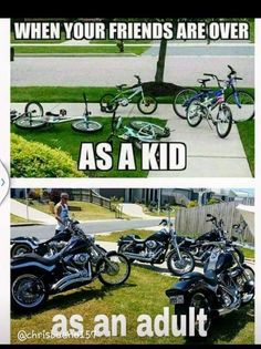 Motorcycle Memes, Biker Quotes, or Rules of the Road - they are what they are. A Biker& way of life. Funny Motorcycle Memes, Bike Humor, Motorcycle Tips, Motocross Funny, Classic Motorcycle, Girl Motorcycle, Triumph Motorcycles, Custom Motorcycles, Custom Baggers