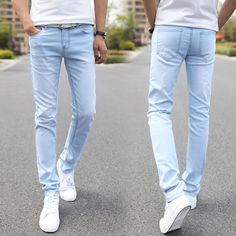 Men Elastic Casual Straight Jeans 2016 New Mid Cowboy Pants Skinny Blue Men Brand Jeans Stretch Jeans Men Hot Size 27-36 rwy801♦️ SMS - F A S H I O N  http://www.sms.hr/products/men-elastic-casual-straight-jeans-2016-new-mid-cowboy-pants-skinny-blue-men-brand-jeans-stretch-jeans-men-hot-size-27-36-rwy801/ US $16.16