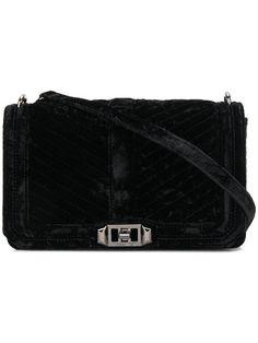 REBECCA MINKOFF Love quilted crossbody bag. #rebeccaminkoff #bags #shoulder bags #silk #velvet #crossbody #