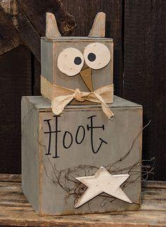 KP Creek Gifts - Owl Mini Stacker