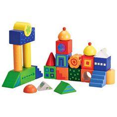Fantasy Blocks By Haba, SKU 2297 Haba Fantasy Blocks wooden building blocks for baby toddler by Haba Fantasy Blocks – Ape 2 Zebra Toys Toddler Boy Toys, Toys For Boys, Kids Toys, Gender Neutral Toys, Wooden Building Blocks, Wooden Blocks, Best Baby Toys, Pop Toys, Wooden Baby Toys