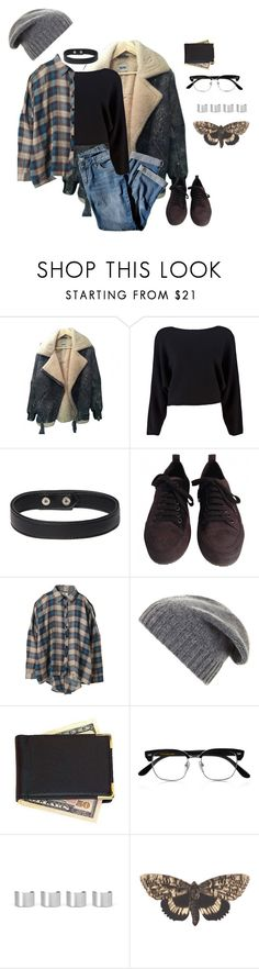 """Untitled #760"" by akts on Polyvore featuring J.Jill, Maison Margiela, Ann Demeulemeester, UNIF, BCBGMAXAZRIA, Royce Leather, Cutler and Gross and Bena"