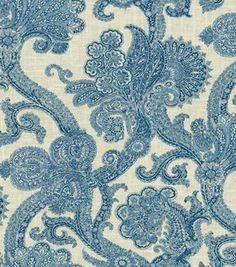 Home Decor Fabric-Waverly Old World Charm Hidden Treasure Lakeside & home decor print fabric at Joann.com