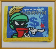 Marvin the Martian Looney Tunes Trifold Wallet - NWT   eBay