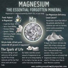 Benefits of taking Magnesium. This is an important mineral and most people aren't getting enough in their diet. Symptoms of needing more magnesium: insomnia, sleepless, constipation, nervousness, muscle ache, headaches, etc