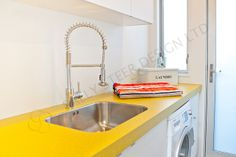 Laundry 219 by Sally Steer Design. NZ by Sally Steer Design. Sally, Sink, Laundry, Design, Home Decor, Sink Tops, Laundry Room, Vessel Sink, Decoration Home