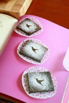 Another superb recipe from the Hummingbird Bakery Cookbook . These are dense, rich, and true to their word : traditional. They taste the w. Hummingbird Bakery Recipes, Nutella, Chocolate Brownies, Love Cake, Sweet Recipes, Sweet Tooth, Sweet Treats, Lemon, Cooking Recipes