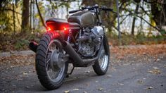 RocketGarage Cafe Racer: Moto Guzzi Le Mans Revival Cycles