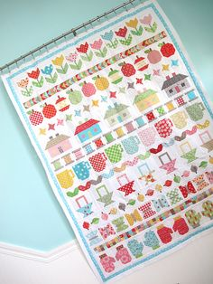 Row Along quilt by Bee in My Bonnet  I just bought the book with all the patterns. C B