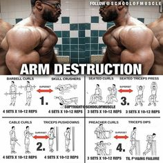 Do the exercises on your Arm as shown in the picture for the most effective result! Related posts:Fat stomach fat metterBuilding a bigger backGreat Booty Workout RoutineRead More →