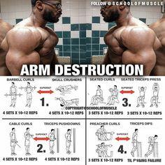 Arm destruction