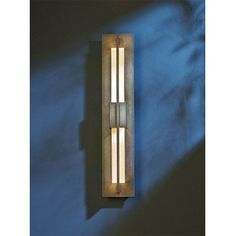 Double Axis Natural Iron LED Small Outdoor Wall Sconce with Clear Glass - (In 20 - Natural Iron)