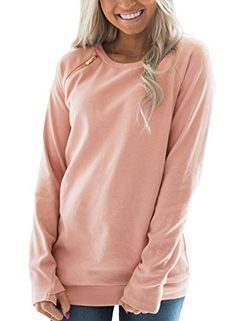 Shop a great selection of FARYSAYS Women's Casual Long Sleeve Round Neck Side Zip Pullover Sweatshirt Tunic Tops. Find new offer and Similar products for FARYSAYS Women's Casual Long Sleeve Round Neck Side Zip Pullover Sweatshirt Tunic Tops. Pullover, Sweatshirt Tunic, Hooded Sweatshirts, Long Sleeve Tops, Camo, Tunic Tops, Women's Casual, Sleeves, Prints