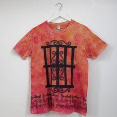 Camiseta oropimente reja andaluza T-M - María Jurado
