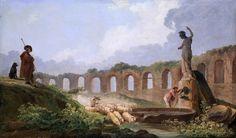 Hubert Robert - Aqueduct in Ruins