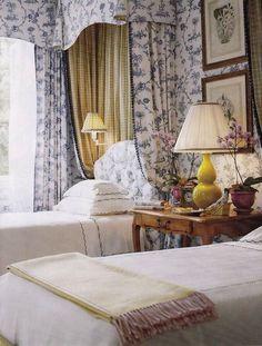 gracious guest bedroom