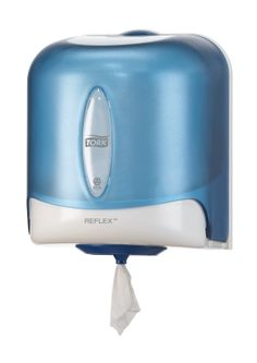 Tork® Torkmatic Hand Towel Dispenser Colour Blue, A robust dispenser for multi-use, absorbent tissues, Single sheet dispensing which reduces waste and cross contamination and reduces consumption by up to Ideal for both hand and surface wiping, Use Of Plastic, Plastic Sheets, Professional Kitchen, Janitorial, House Inside, Hygiene, Minion, Hand Towels, Lotus