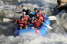 whitewater rafting looks like a lot of fun. National Whitewater Center in Charlotte, NC