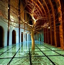 This was huge, much bigger than it looked here. I loved it. Heaven with the Earth, Hungarian pavilion in Seville Organic Architecture, Architecture Design, Pavilion, Cool Pictures, Beautiful Places, Places To Visit, Earth, Explore, Nice Things