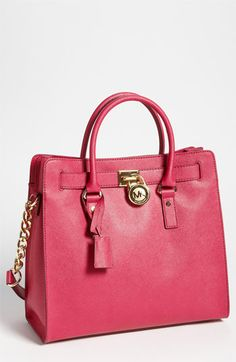 MICHAEL Michael Kors 'Hamilton - Large' Saffiano Leather Tote available at #Nordstrom  Oh Hamilton!