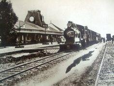 Train leaving the Nairobi Station 1900
