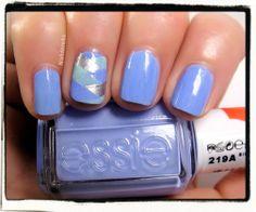 Fishtail braid nail accent