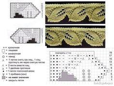 """Materiales gráficos Gaby: LIC con hojas """"Cuello en dos agujas"""""""