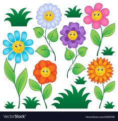 Find Cartoon Flowers Collection 1 Vector Illustration stock images in HD and millions of other royalty-free stock photos, illustrations and vectors in the Shutterstock collection. Thousands of new, high-quality pictures added every day.
